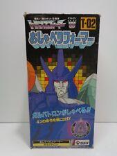 Transformers GALVATRON Talking T-02 G1 MIB 1986 Takara