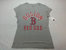 Carl Banks 4her Women's Tee Shirt Boston Red Sox in Gray - Large - NWT R$22.00