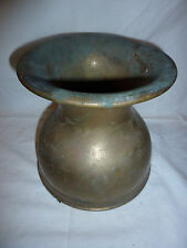 Vintage Antique REAL Brass Spittoon Western Saloon * Real * 1800's