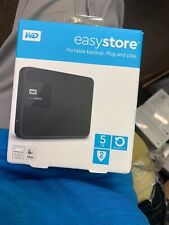 WD - Easystore 5TB External USB 3.0 Portable Hard Drive - Black $169 at Best Buy