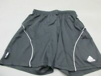 ADIDAS SIZE S WOMENS BLACK ATHLETIC SPORTSWEAR RUNNING TRACK SHORTS 482