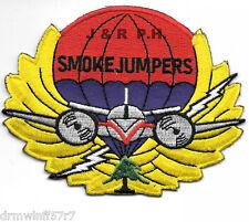 "Wildland - Missoula  Smoke Jumpers, MT  (4"" x 3.25"") fire patch"