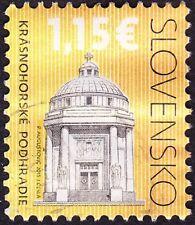 Slovakia - 2015 - 1.15 Building / Architecture Commemorative Issue F-VF Nice