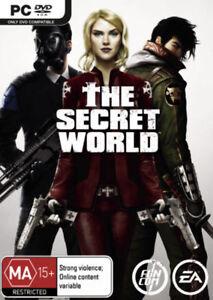 The Secret World PC Game AU version Factory Sealed