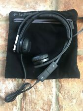 Logitech USB USB Headset A-00057 with microphone and case