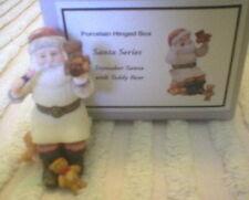 Phb Midwest Porcelain Hinged Box – Toymaker Santa - Mib