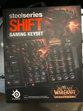 SteelSeries Limited Edit. Keyset for the Shift Gaming Keyboard- Open Box