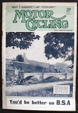 MOTOR CYCLING MAGAZINE - 10 AUG 1938 - EUROPEAN GP WINS BY: NORTON, BMW & DKW