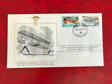 TURKS & CAICOS ISLANDS 1978 FDC FAI LTD ED AVIATION WRIGHT BROTHERS FLYER