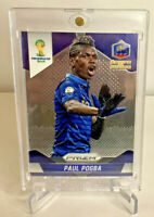 2014 Paul Pogba Prizm World Cup France Rookie Soccer Card Manchester United RARE