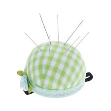 Pin Cushion Wooden Base Needle Pillow for Sewing Needles PiJO