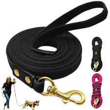 6.5/10/16ft Dog Long Leash for Medium Large Dogs Training with Handle Red Rope