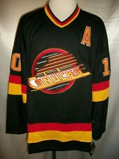 "Pavel Bure Vancouver Canucks Black ""1989-1992 Throwback"" CCM NHL Jersey 2XL"