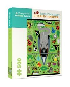 Charley Harper: Secret Sanctuary 500 Piece Jigsaw Puzzle