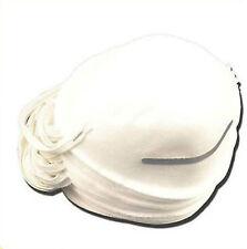 20 x máscaras de polvo tipo de cáscara moldeada Desechables Mascarillas elástica