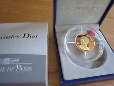 monnaie or Christian Dior annee 2007  état neuf rare 500 ex.