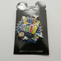 Disney WDW - 2011 - Mickey and Friends Spinner Pin