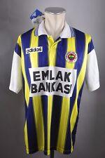 Fenerbahce Trikot XL #8 Neu Jersey Adidas 1997/1998 Emlak Bankasi Türkei Shirt