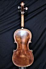 """Ur-Alte Geige mit BRANDSTEMPEL """"ED. HEIDEGGER LINZ"""" - Very old violin"""