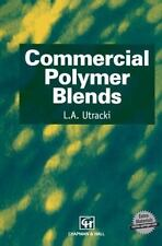 Materials Science: Commercial Polymer Blends by L. A. Utracki (1998, Hardcover)
