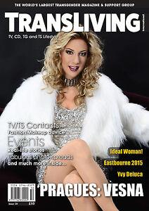 TRANSLIVING 50 Magazine Transgender, Non-Binary, X-Dress, Transvestite Lifestyle