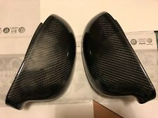 VW Golf Mk5 04-08 GTI TDI R32 in fibra di carbonio RETROVISORI copre OEM-Fit