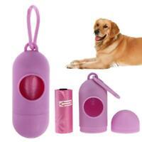 Pet Dog Garbage Clean up Bags Outdoor Carrier Holder Dispenser Poop Bags Set
