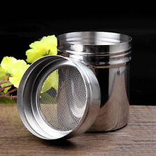 Stainless Steel Chocolate Shaker Icing Sugar Powder Coco Flour Coffee Sifter Set