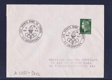 ec72/ Enveloppe   les sports dans le timbre   Desertines      1972