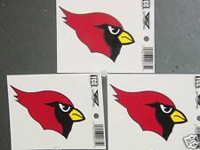 NFL Window Clings (3), Arizona Cardinals, NEW