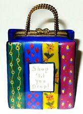 Limoges Box - Tote Bag - Purse - Floral Shopping Bag & Gift - Shop 'Til You Drop