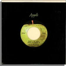 Billy Preston-- That's The Way God Planned It + What About You - Mono Apple 45!