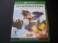 Replacement Case (NO  GAME) OVER WATCH OVERWATCH XBOX ONE 1 XB1 100% ORIGINAL
