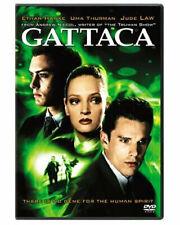 New Gattaca Dvd The Movie 1997 Ethan Hawke, Uma Thurman, Alan Arkin