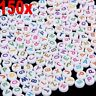 150pcs Colorful Flat Round Alphabet Letters Acrylic Beads - Jewellery Making DIY