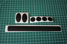 Carbon look heavy duty Cable Rub Frame Protector Patches MTB, ROAD, BMX, Cycle