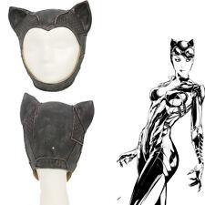 Batman Arkham Knight Catwoman Mask Full Head Cosplay Costume Prop Helmet Heroine