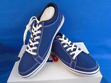 Xtratuf Chumrunner Canvas Men's Deck Shoes, Blue XMC-200, Size 12
