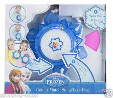Disney Frozen Princess Snowflake Colour Changing Bag Girls Light up Purse Toy