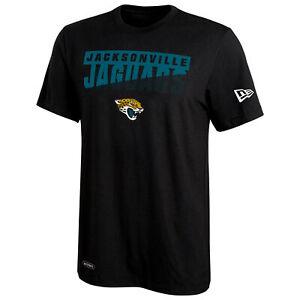 NewEra NFL Football Mens Jacksonville Jaguars Scoreboard DriTek Short Sleeve Tee