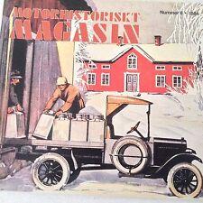 Motorhistoriskt Magasin Magazine Andre Dubonnets No.6  1984 071017nonrh