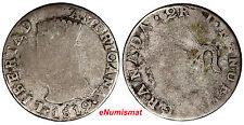 Colombia Silver 1819 JF 2 Reales One Year Type NUEVA GRANADA RARE KM# 76