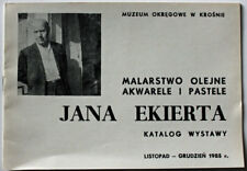 Catalogue Exposition Jean EKIERT MUZEUM OKREGOWE W KROSNIE