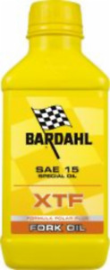 Olio Forcelle Bardahl XTF Fork Sae 15 W Fluido Forcella Moto 500ml