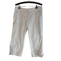 Tommy Bahama Crop Capri Pants White Size 12