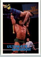 1990 Classic WWF WWE #43 Ultimate Warrior