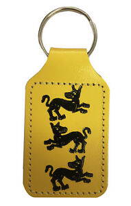 Game of Thrones House Clegane Keyring - The Hound, The Mountain Cleganebowl