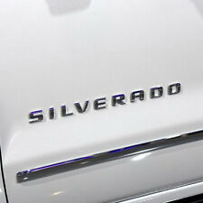 For Chevrolet Silverado 1500 2500 3500 3D Letters Door Tailgate Emblem Nameplate