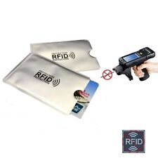 5pcs Anti Thief RFID Blocking Reader Lock Bank Credit Card Holder Protection
