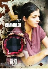 The Walking Dead Season 5 Costume Relic Card Tara Chambler 43/50